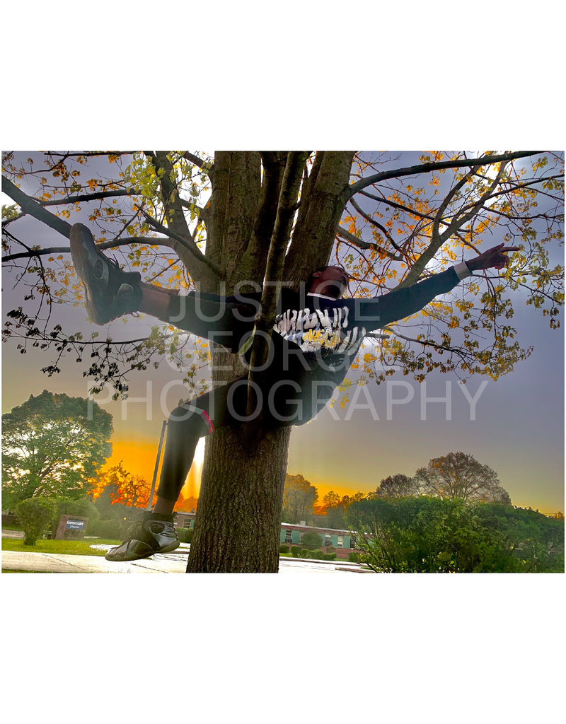 """Justice Georgie Photography """"One with Nature"""" Print"""