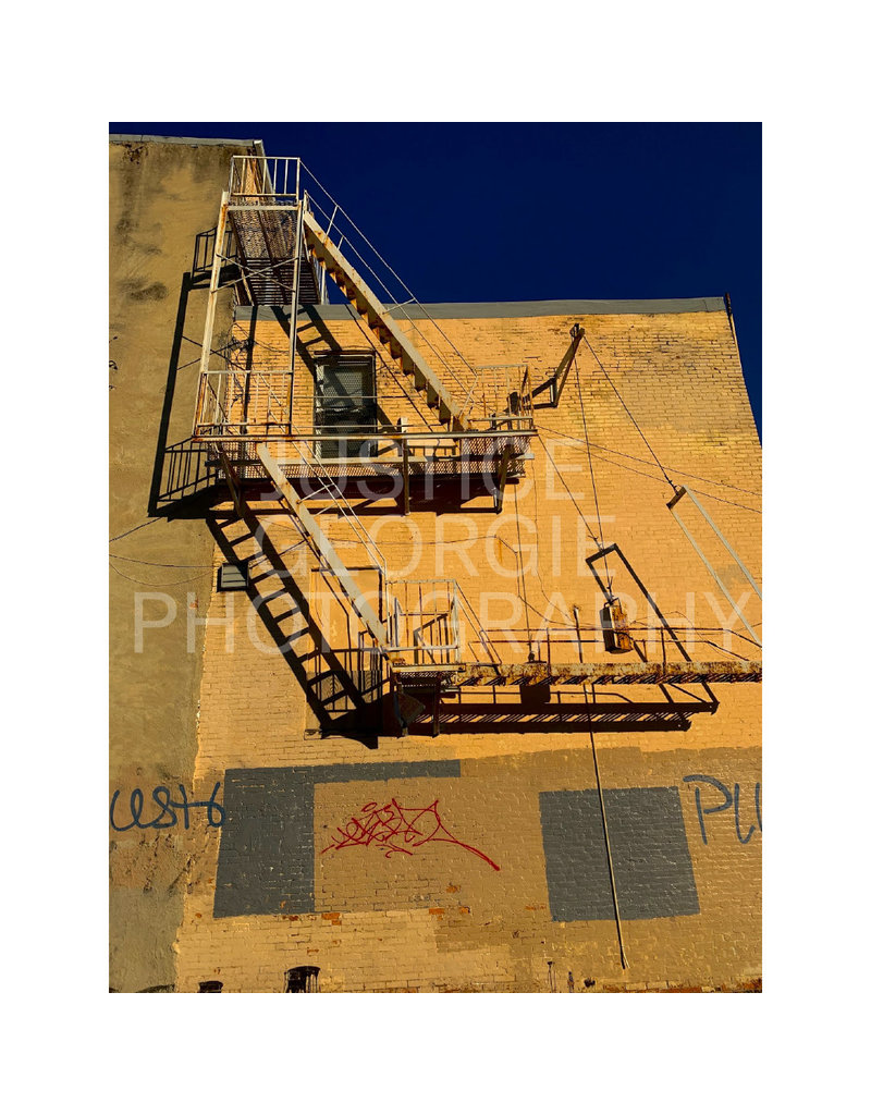 "Justice Georgie Photography ""Fire Escape"" Print"