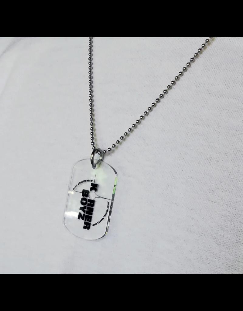 Korner Boyz KBZ Military Style Necklace