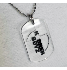 Korner Boyz KBZ Military Style Necklace