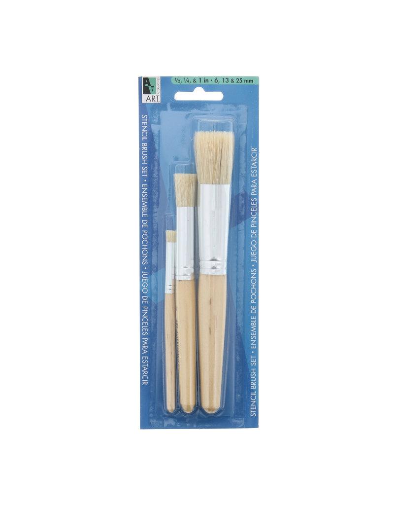 Art Alternatives Stencil Brush Set