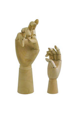 Art Alternatives 12'' Articulated Wooden Right Hand