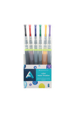 Art Alternatives Color Waterbrush Set - 6Pc