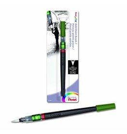 Pentel Brush Pen Bold Blk Cd