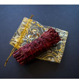 OM By Se'Henna Dragon Blood Sage Smudge Stick