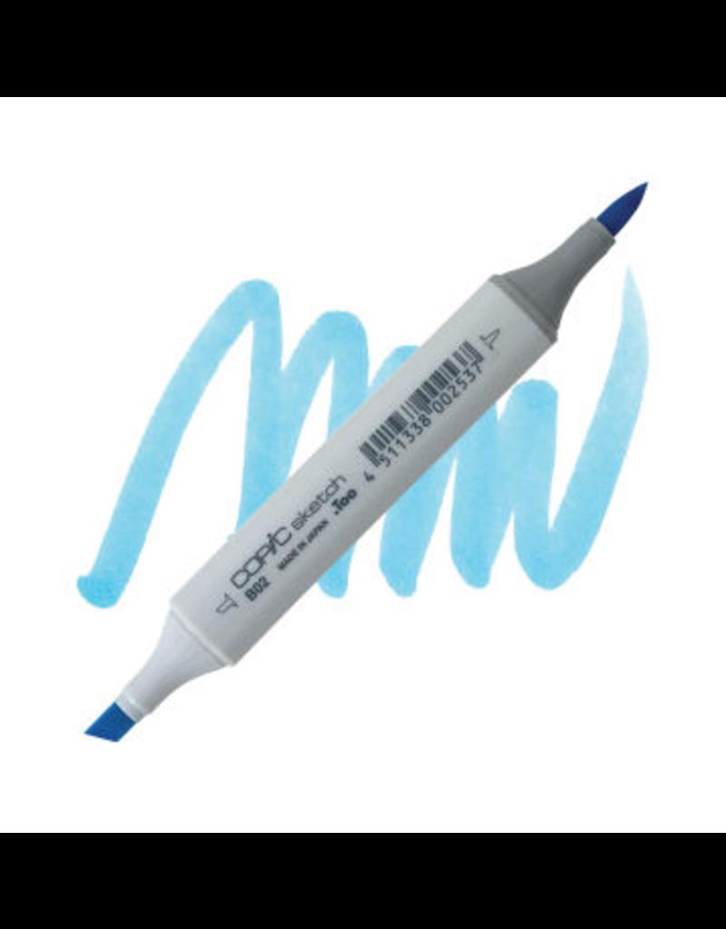 Copic Copic Marker B02 - ROBIN'S EGG BLUE