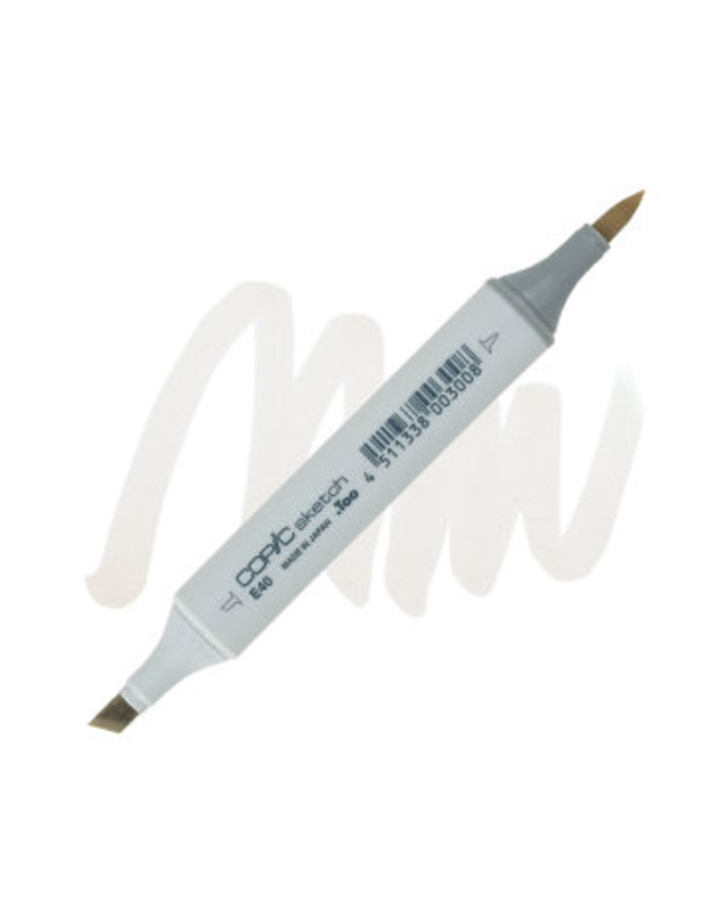 Copic Copic Marker E40 - BRICK WHITE