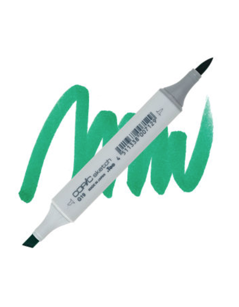 Copic Copic Marker G19 - BRIGHT PARROT GREEN