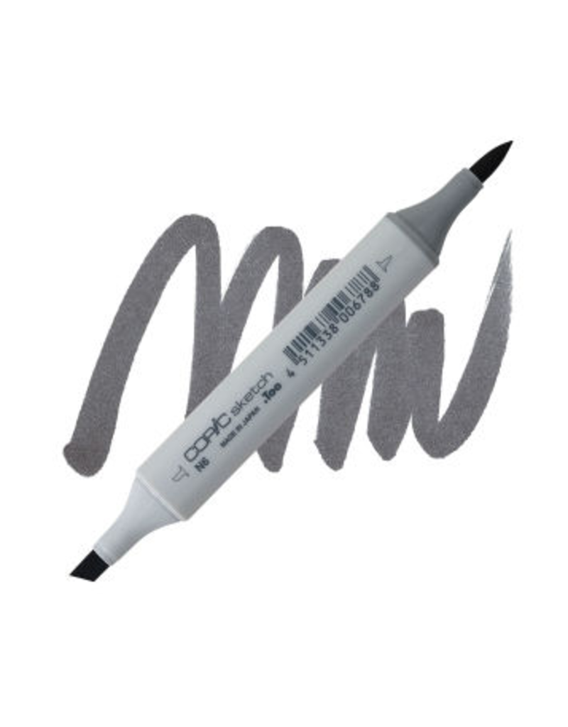 Copic Copic Marker N6 - NEUTRAL GRAY