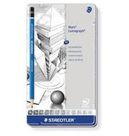 Staedtler Lumograph Pencil Set 12 Deg
