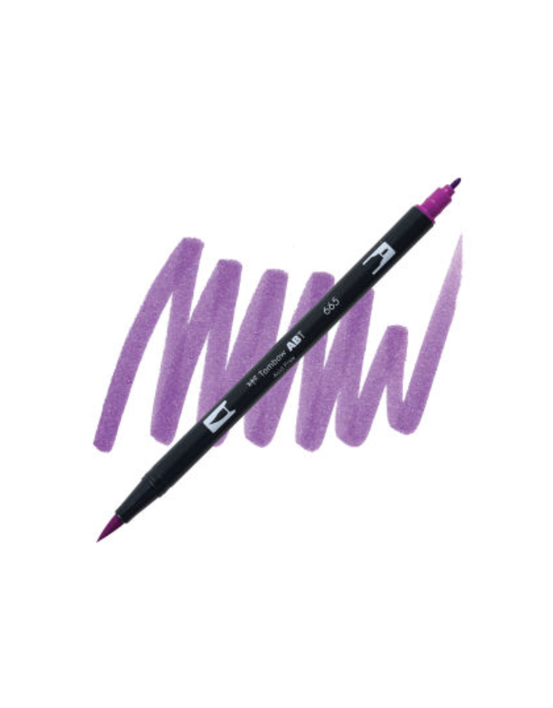 Tombow Dual Brush-Pen  665 Purple