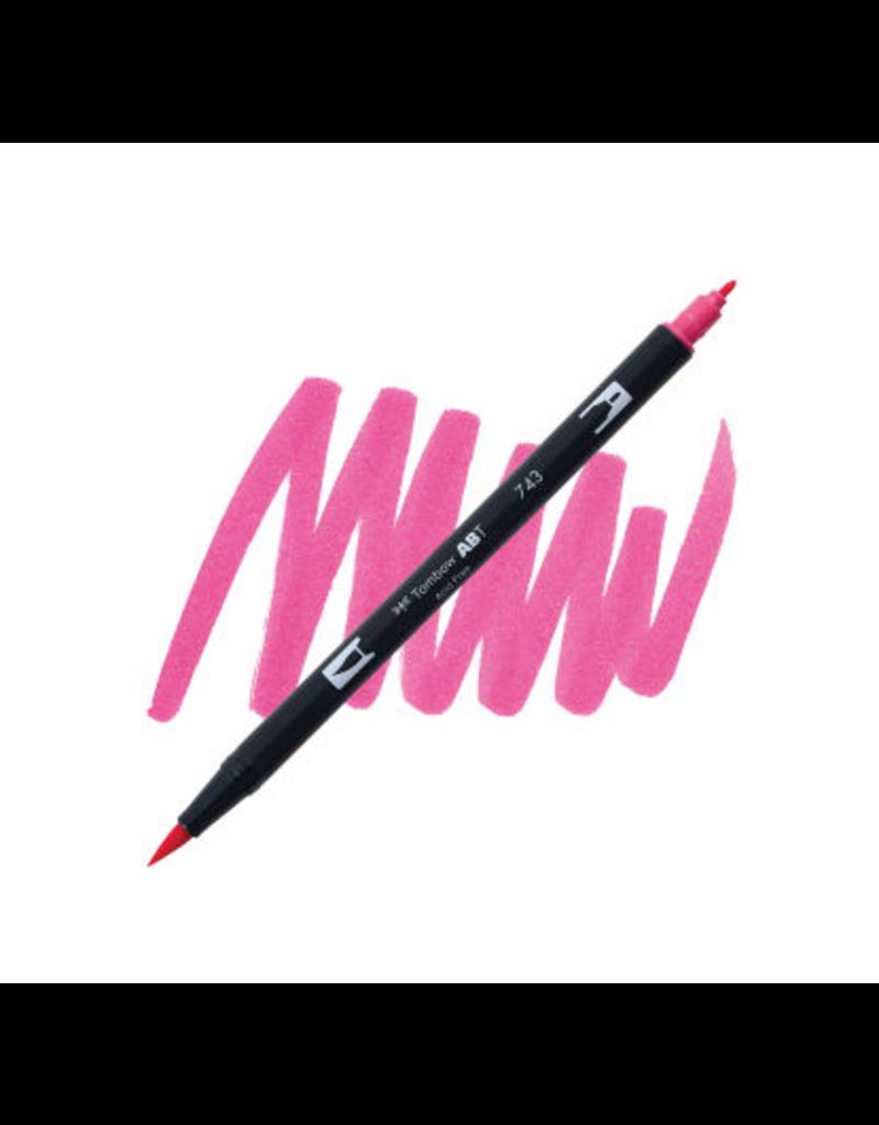Tombow Dual Brush-Pen  743 Hot Pink