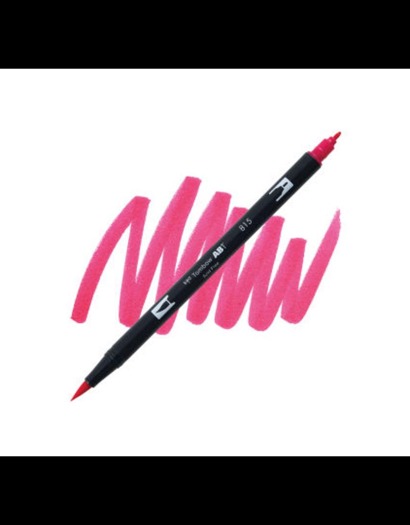 Tombow Dual Brush-Pen  815 Cherry