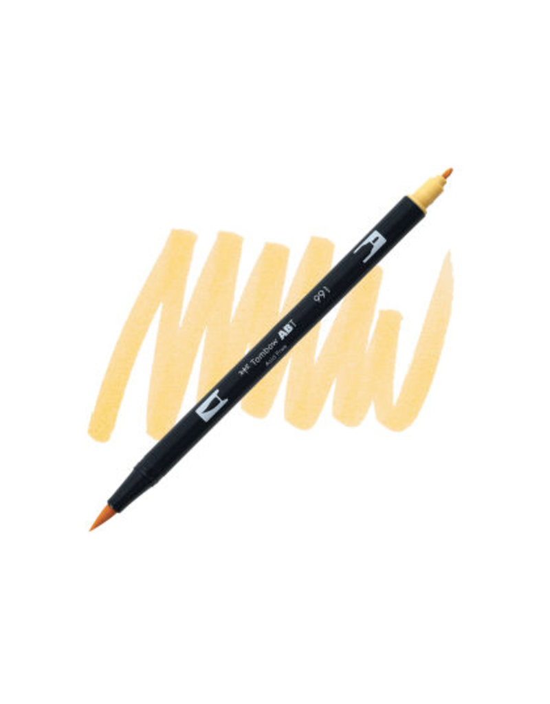 Tombow Dual Brush-Pen  991 Lt Ochre