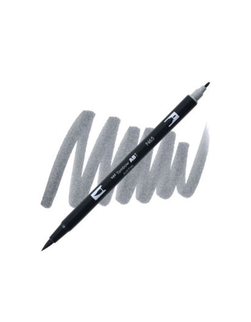 Tombow Dual Brush-Pen  N65 Cl Gray 5
