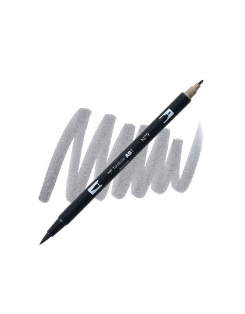Tombow Dual Brush-Pen  N79 Wm Gy 2