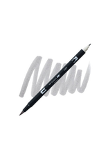 Tombow Dual Brush-Pen  N89 Wm Gy 1