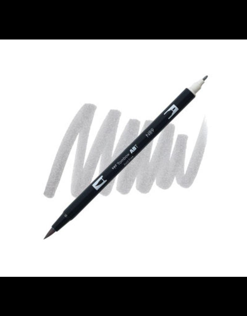 Tombow Dual Brush-Pen  N89 Wm Gy 1