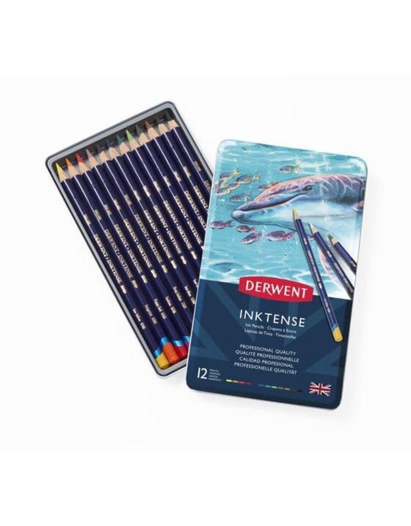 Derwent Inktense Pencil Tin 12