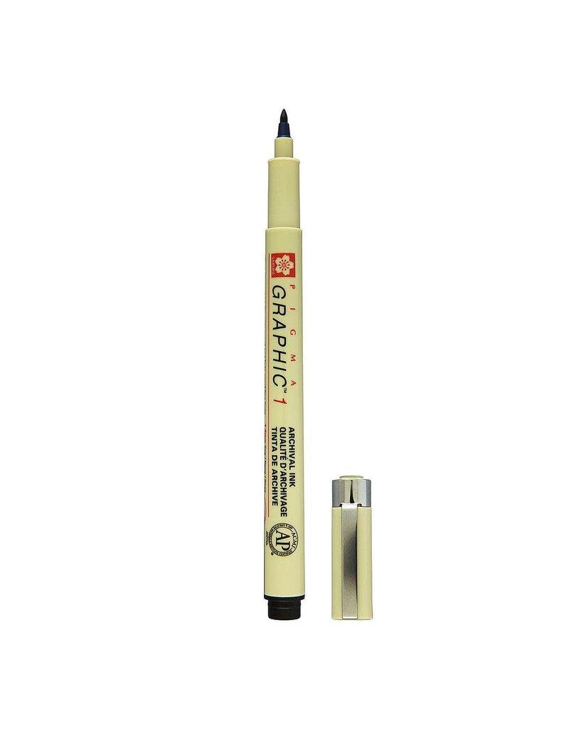 Sakura Graphic Pen 1Mm Black