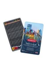 Derwent Procolour Pencil 12 Tin