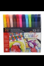 Sakura Koi Color Brush Pen 12 Pc Set