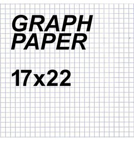 Alvin Graph Paper 4x4 Grid 17'' x 22''