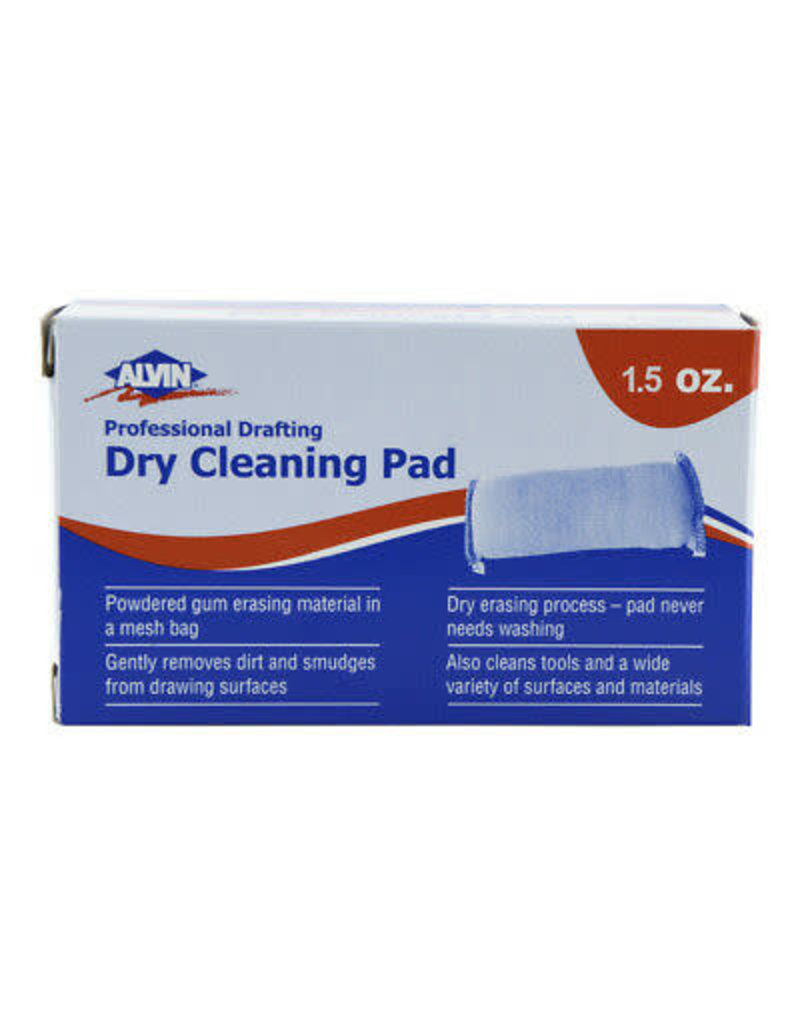 Alvin Professional Drafting Dry Cleaning Pad 1 1/2oz