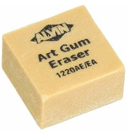 Alvin Alvin 1'' x 1'' x 3/4'' Art Gum Erasers