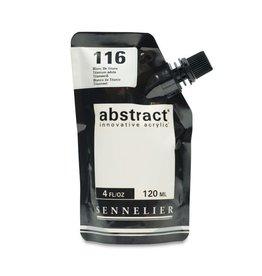 Savoir Faire Abstract 120Ml Titanum White
