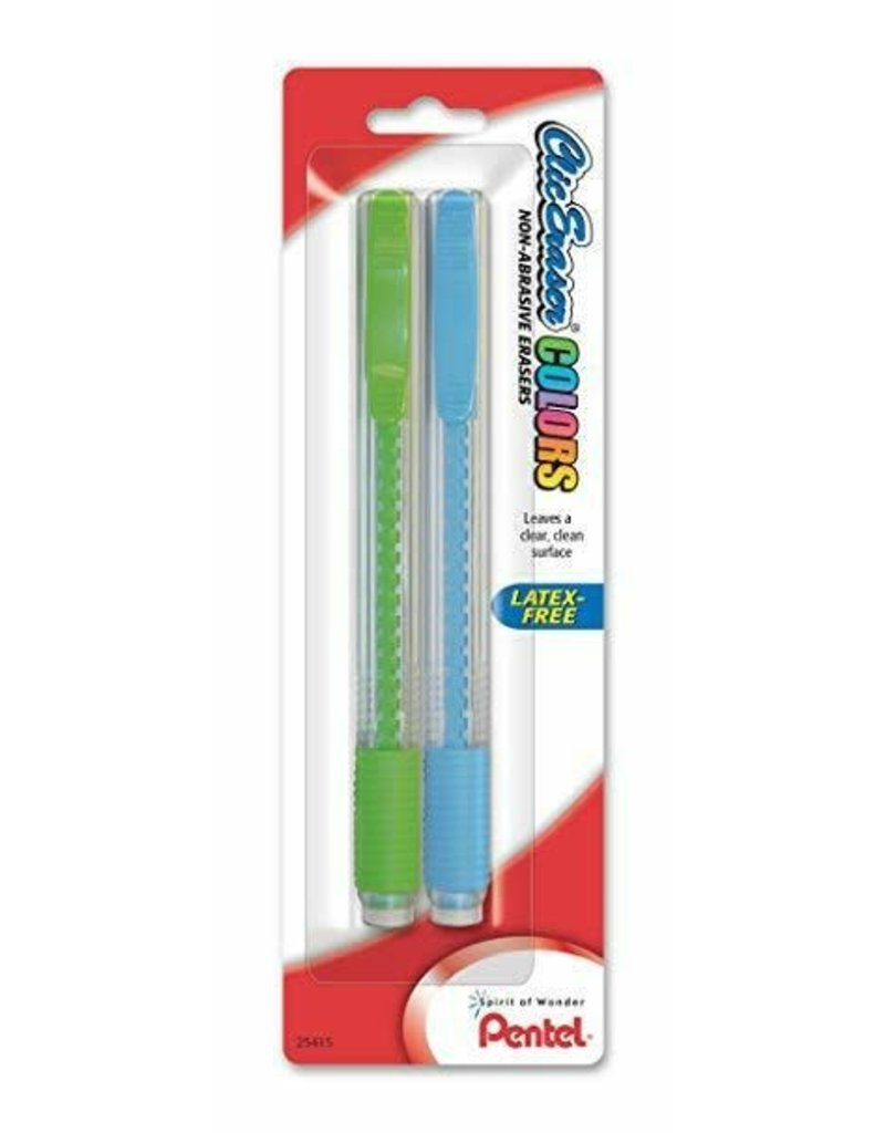 Pentel Eraser Clic/Grip 2 Pack