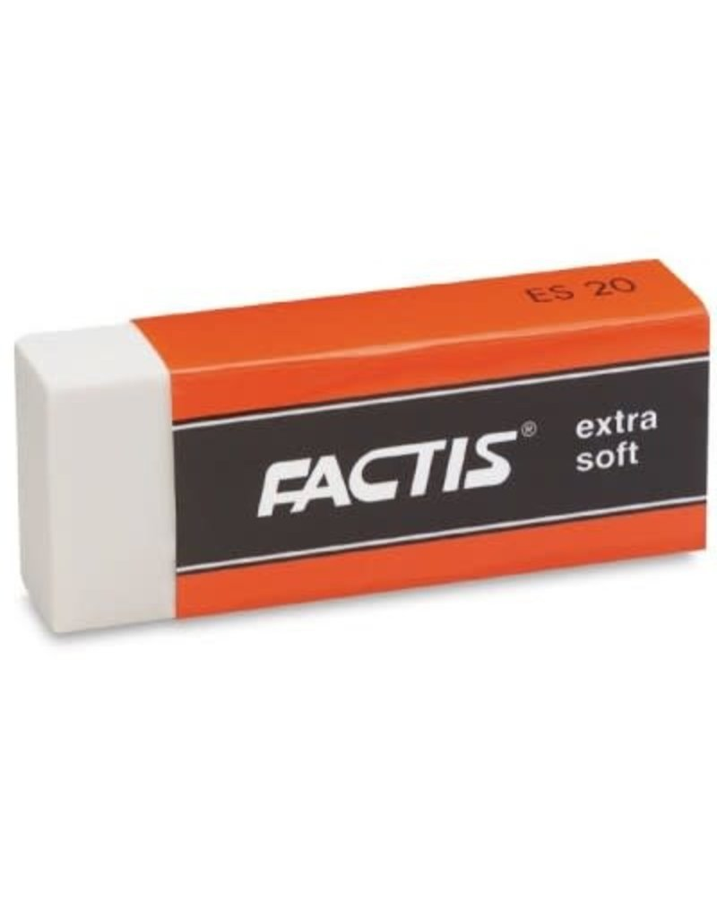 General Pencil Eraser Factis Xs White Vinyl