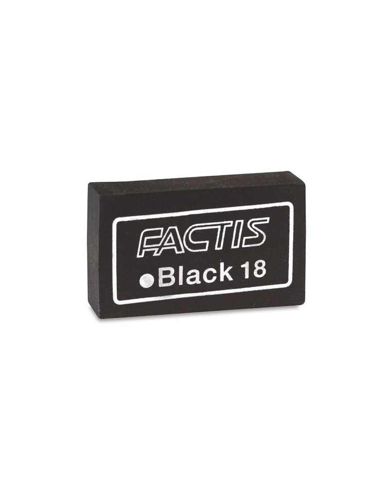 General Pencil Factis Magic Black Eraser - Individual