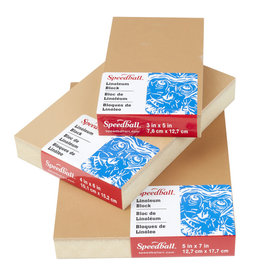 Speedball Lino Block Tan 6''x9''