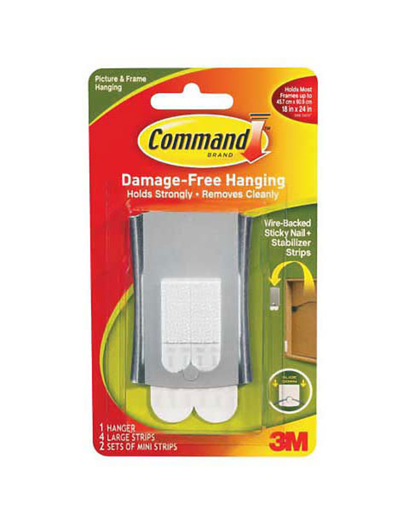 Scotch 3m Command Sticky Nail Wirebck Hangr