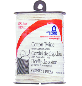 Faucet Queen Cotton Twine - White 200Ft 1Pk Bp Handy Cut