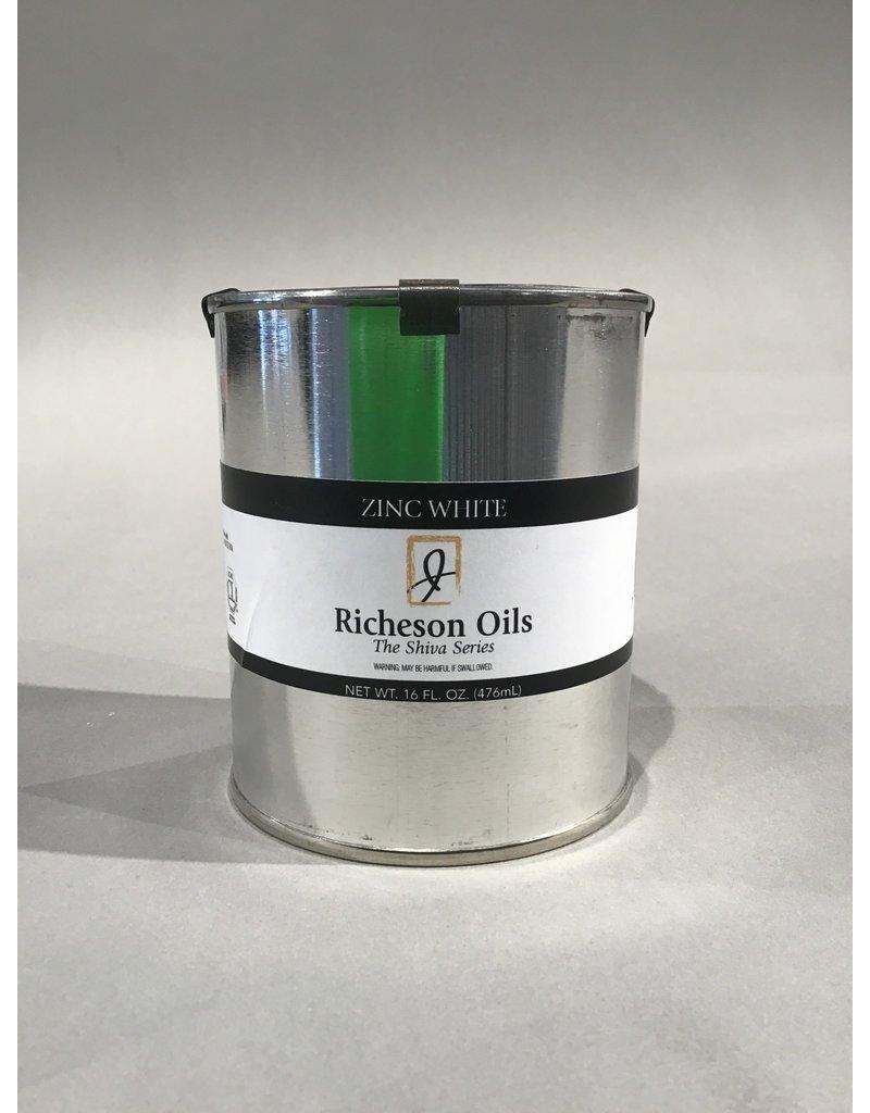 Jack Richeson Jack Richeson Oil Zinc White 16 Oz.