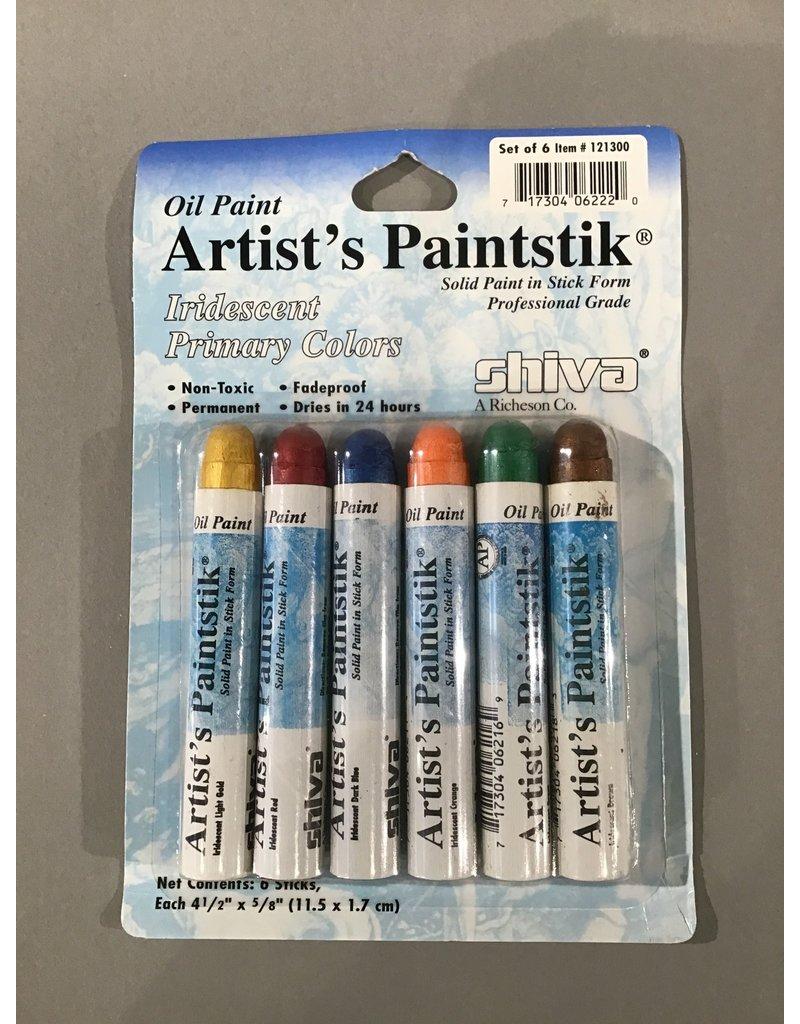Jack Richeson Paintstik Sets - Shiva: Iridescent Primary Colors