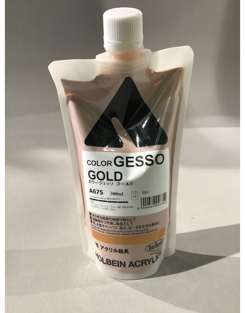 Holbein Gesso 300Ml Gold