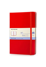 Moleskine Moleskine Art Plus Sketchbook, Large, Plain, Red, Hard Cover (5 X 8.25)