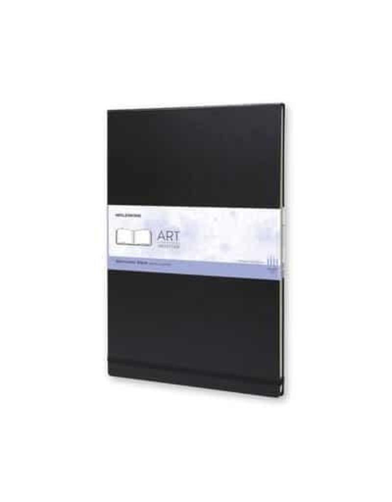Moleskine Moleskine Art Plus Watercolor Album, Large, Black, Hard Cover (5 X 8.25)