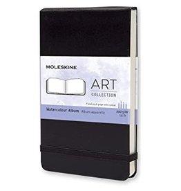 Moleskine Moleskine Art Plus Watercolor Album, Pocket, Black, Hard Cover (3.5 X 5.5)