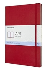 Moleskine Moleskine Art Sketchbook, A3, Scarlet Red, Hard Cover (11.75 X 16.5)