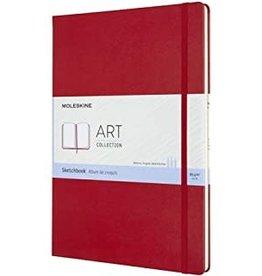 Moleskine Moleskine Art Sketchbook, A3, Scarlet Red, Hard Cover (11.75 X 16.5)