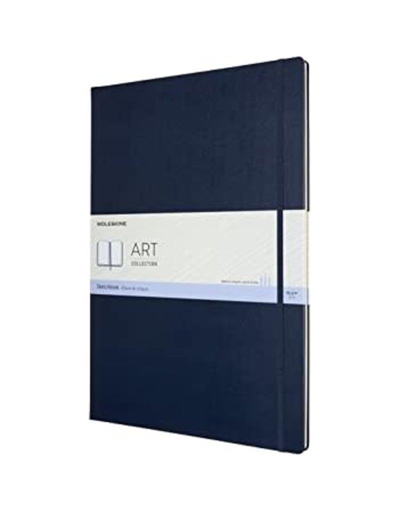 Moleskine Moleskine Art Sketchbook, A4, Sapphire Blue, Hard Cover (8.25 X 11.75)