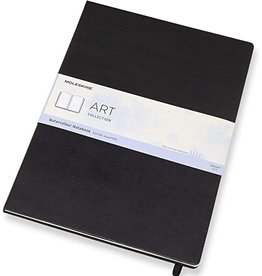 Moleskine Moleskine Art Watercolour Notebook, A3, Black, Hard Cover (11.75 X 16.5)