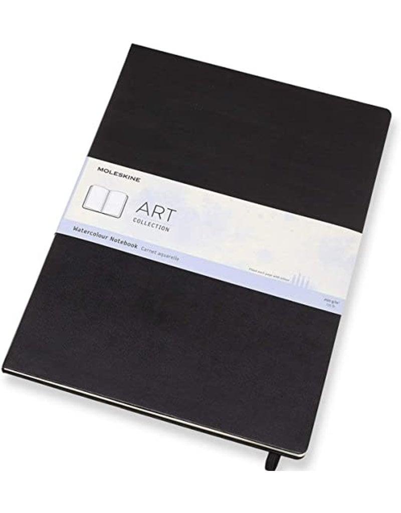 Moleskine Moleskine Art Watercolour Notebook, A3, Black, Hard Cover (11.75 X 16.5)