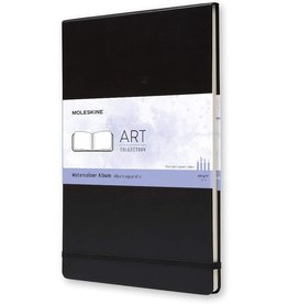 Moleskine Moleskine Art Watercolour Notebook, A4, Black, Hard Cover (8.25 X 11.75)