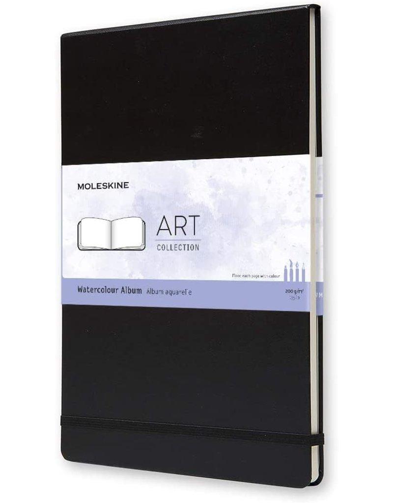 Moleskine Moleskine Art Watercolour Notebook, A4, Black, Hard Cover (8.25 X 11.75)