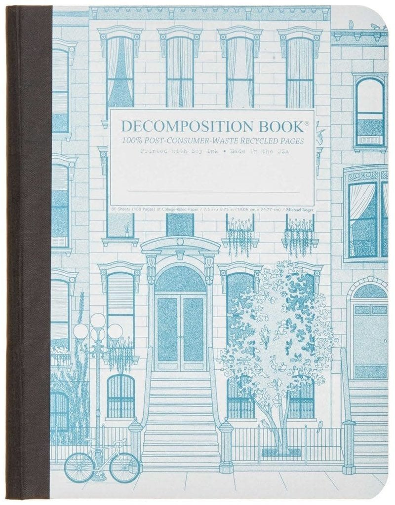 Michael Rogers Decomposition Book | Brownstone | Lined Pages